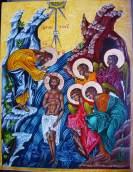 Baptême du Christ, Sandrine
