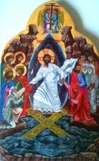 Resurrection, remontée des Limbes, S Aulagnon