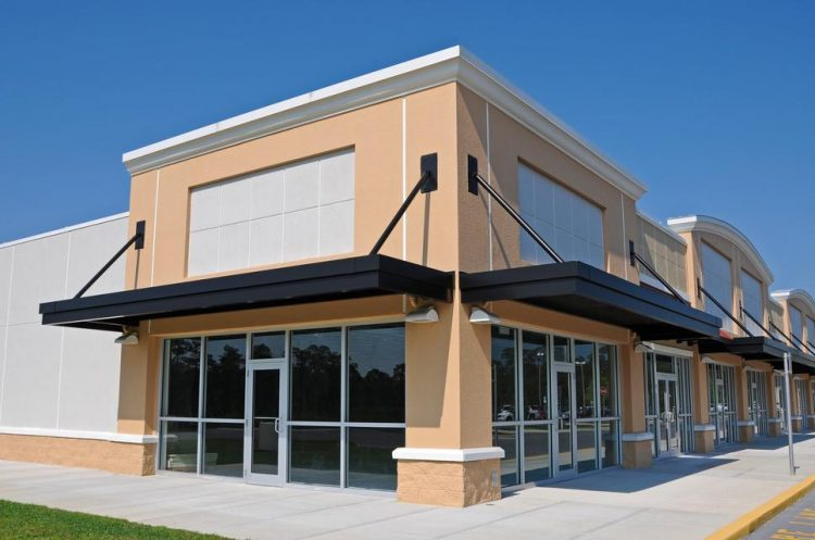 New Shopping Center with Commercial, Retail and Office Space