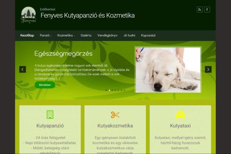 A-CLICK.hu - Fenyves Kutyapanzió és Kozmetika