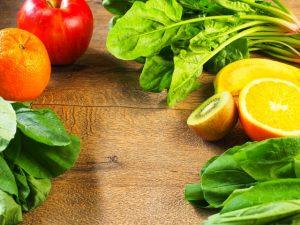 脇の臭い,食べ物,緑黄色野菜,くだもの,ビタミン