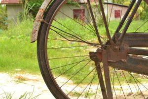 自転車,錆,サビ