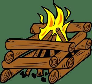 キャンプファイヤー,やり方,井の字