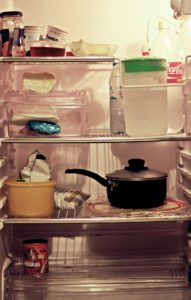 冷蔵庫,掃除,クエン酸,重曹,カビ