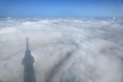 東京スカイツリーの雲海