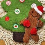 【手作り】クリスマスツリーオーナメント