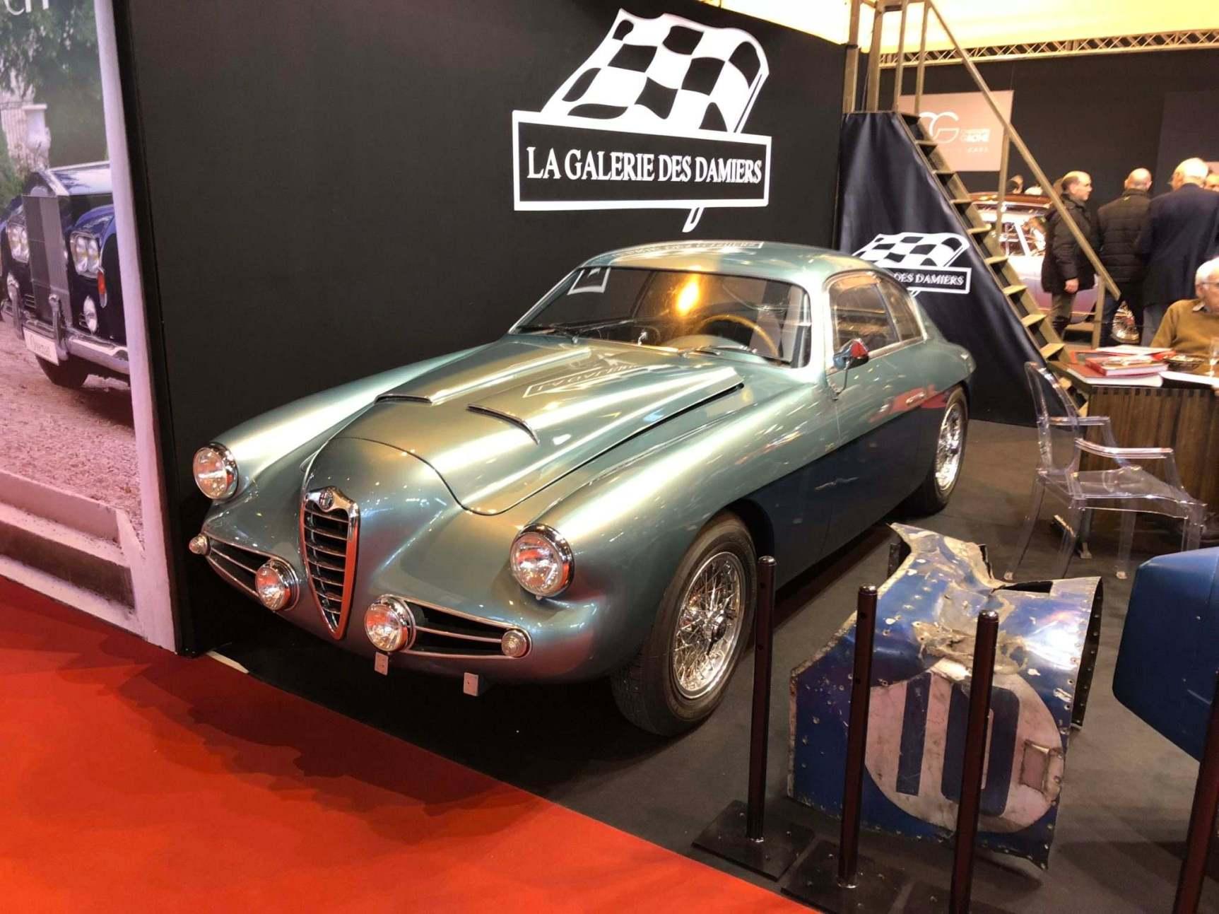 A rare Alfa Romeo 1900 SS Zagato.
