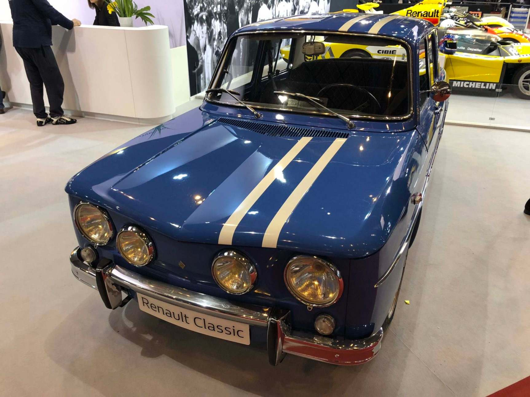 A Legend, the Renault 8 Gordini, part of the Renault Classic Collection