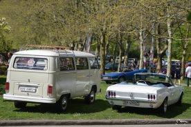 VW T1 & Ford Mustang