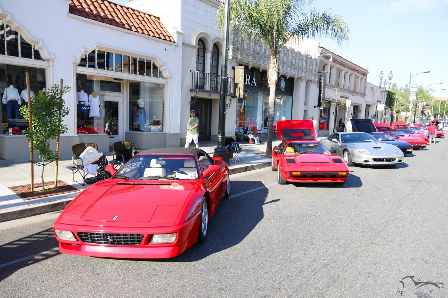 Ferrari 348 Spider and 308 GTB