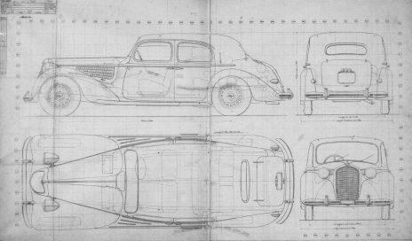 1939 Alfa Romeo 6C 2500 Limousne