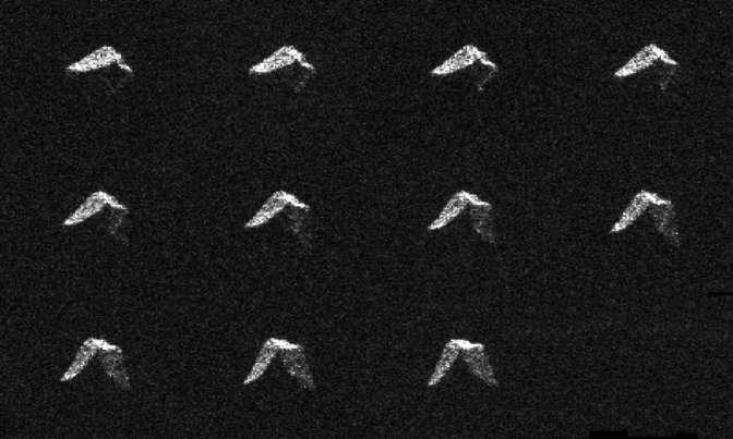 Учёные опубликовали фото астероида, который мог повстречаться 6февраля сЗемлёй