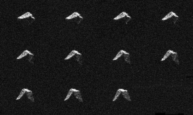Ученые получили снимки астероида миновавшего Землю
