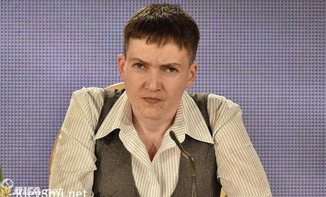 Савченко приехала вколонию, где содержатся украинские заложники