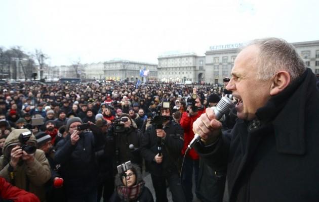 Марш против декрета о 'тунеядцев' в Минске завершился мирно