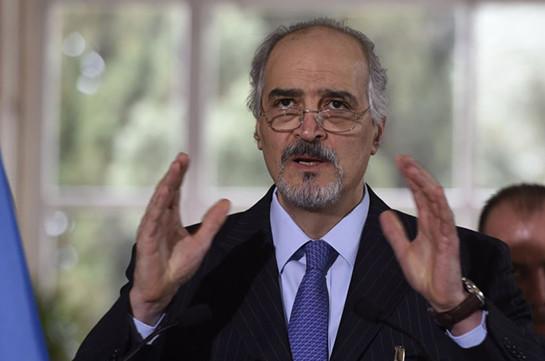 Глава делегации правительства Сирии Джаафари прибыл в Женеву