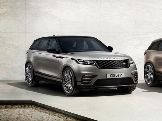 Новый Range Rover Velar навсе 100% рассекречен