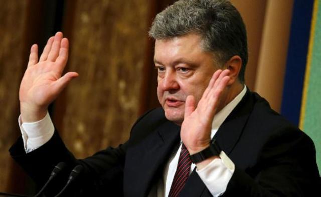 Порошенко обратился к украинцам с призывом самим разобраться с Донбассом