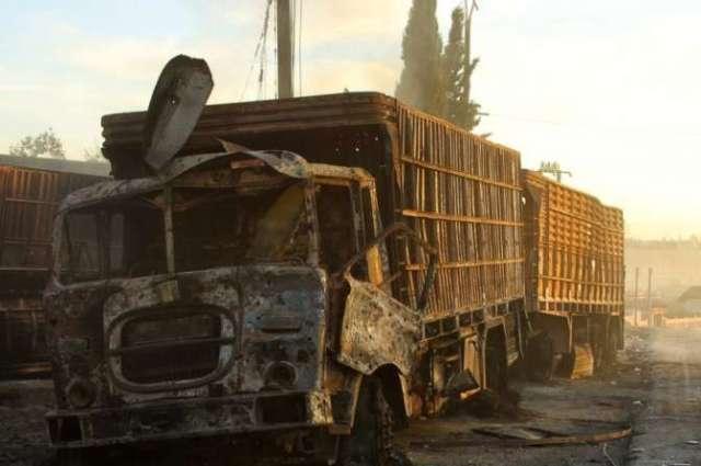 Комиссия ООН располагает доказательствами причастности ВВС Сирии к атакам на гумконвой