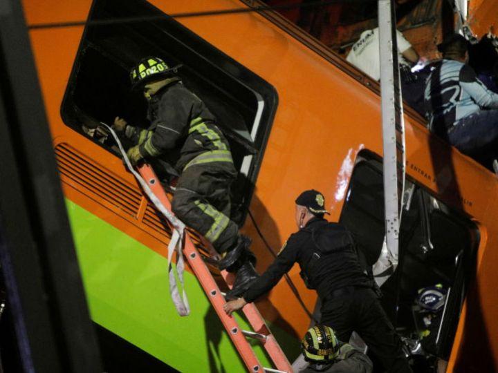 Число погибших в результате обрушения эстакады метро в Мехико возросло до 24 — власти