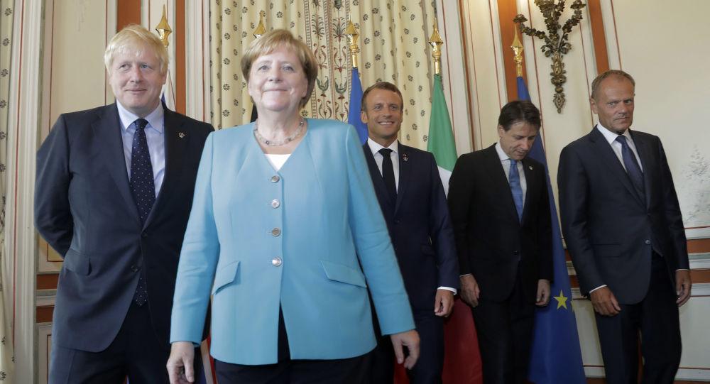 Саммит G7: как богатые народы мира ревностно охраняют вход, как вышибала в ночной клуб Snobby