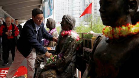 Пекин осуждает Японию за решение сократить количество учебников, посвященных историческим злоупотреблениям в отношении «женщин для утех»