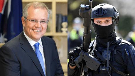 Премьер-министр Австралии хвастается свободолюбивостью австралийцев перед ООН, поскольку полиция продолжает преследование дома