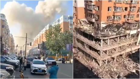 По меньшей мере трое убиты, более 30 ранены в результате сильного взрыва газа на севере Китая