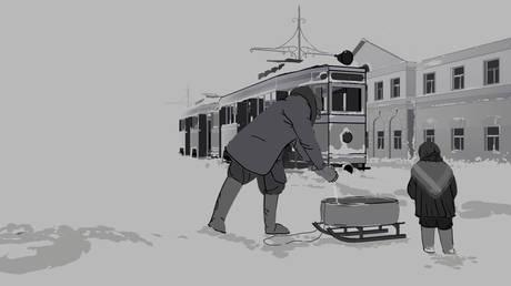VR Sketches ', анимационный фильм, посвященный детям Ленинграда в годы Великой Отечественной войны