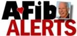 A-FibAlerts logo.