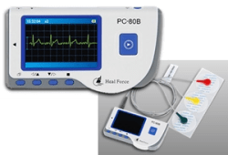 Heal Force or Creative Easy ECG Monitor PC-80B review at A-Fib.com