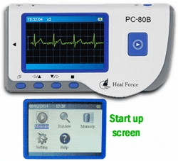 Heal Force PC-80A portable EKG monitor - A-Fib.com