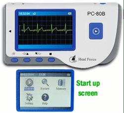 Heal Force PC-80A portable EKG monitor - A-Fib.com