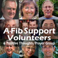 One-to-One, our A-Fib Support Volunteers are just an email away at A-Fib.com