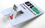 USB credit card-size by ER Card