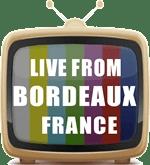 GFX TV set BORDEAUX FRANCE 150 pix by 96 res