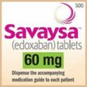 Edoxaban label - Edoxaban marketed as Savaysa in North America