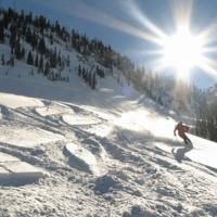 Skiing in Park City, UT