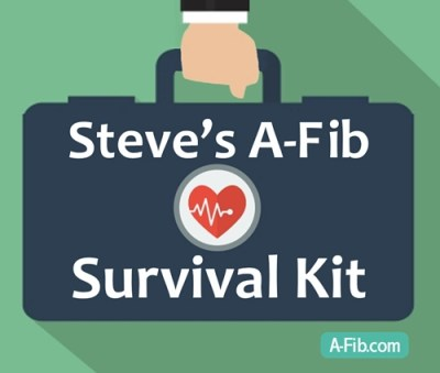 Steves A-Fib Survival Kit - SLIM - 500 pix wide at 96 res