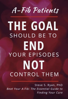 A-Fib Patients- The Goal should be to End your episodes not Control them-A-Fib.com