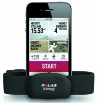 Polar H10 Bluetooth Heart Rate Monitor with smartphone app