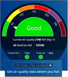 Air Quality Index - Get data on your location