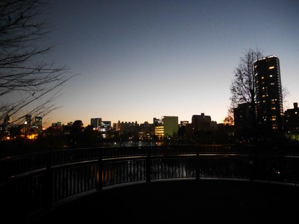Vue de Tokyo du zoo d'Ueno