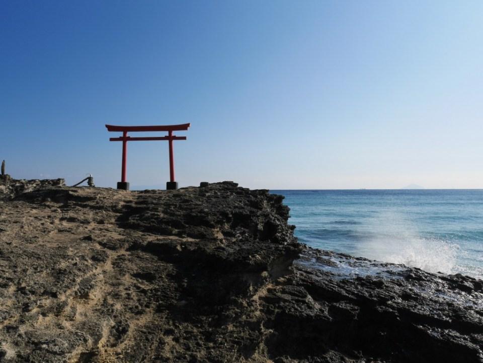 Porte sur plage
