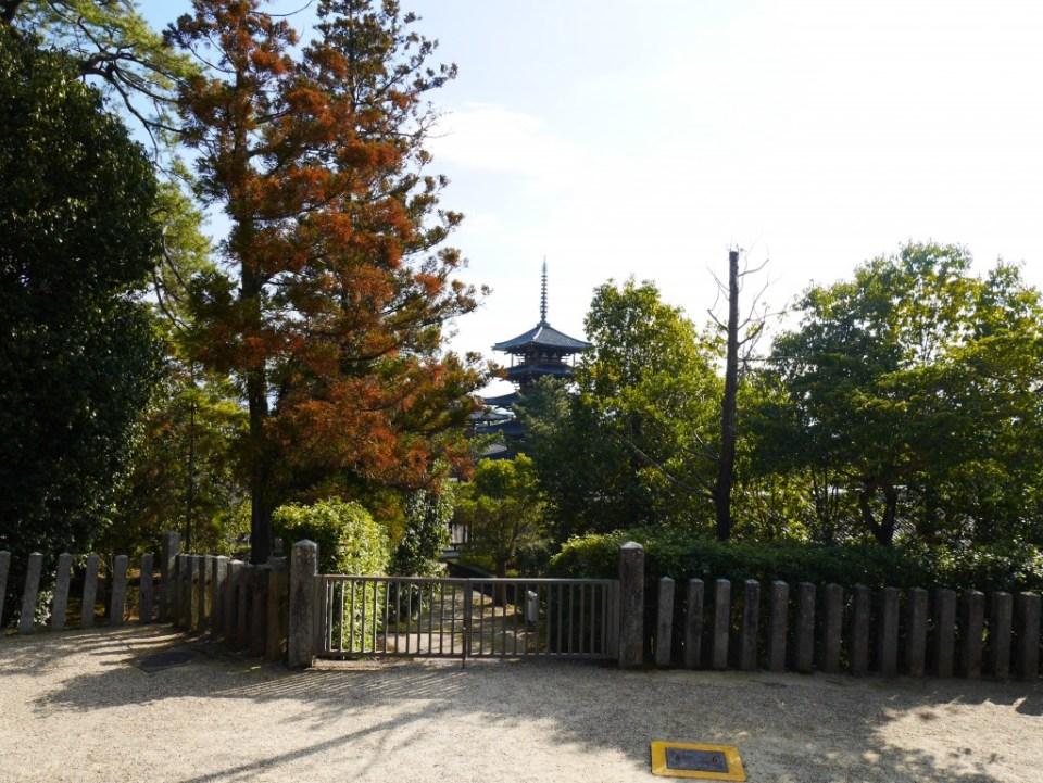 La pagode de Horyuji