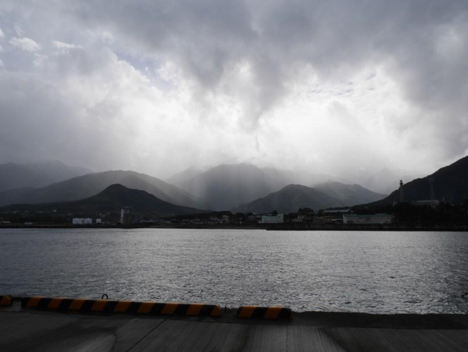 Vue de Yakushima depuis le ferry