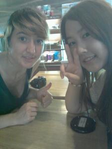 Seulgi et moi en 2012