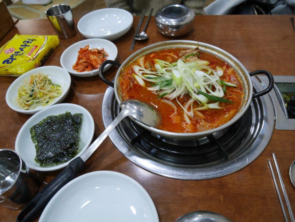 Miam! Je ne saurais pas dire ce que c'est car Eun Jeong avait commandé...