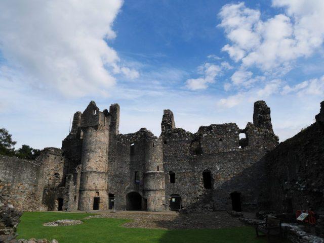 Façade intérieure du château de Balvenie