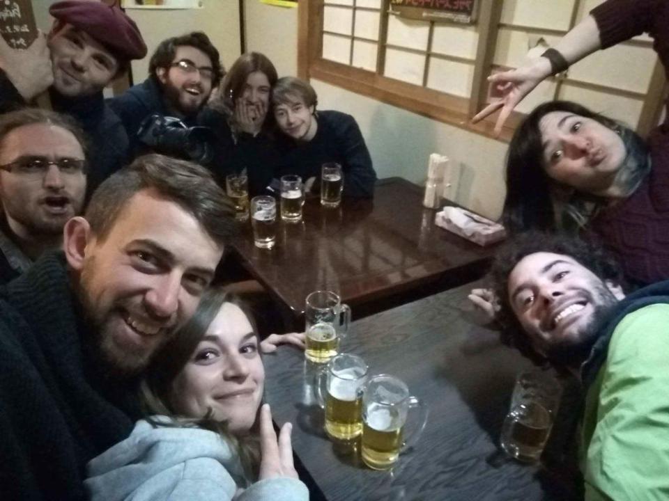La troupe